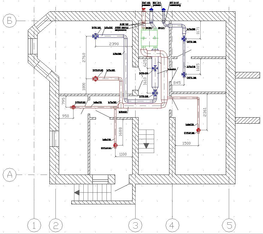 Схема монтажа кондиционера